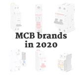 Common brands of miniature circuit breakers in 2020