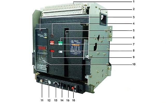 What is an air circuit breaker?