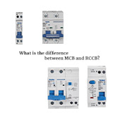 What is the difference between MCB and RCCB?