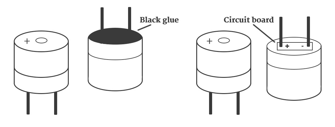 What is the working principle of the buzzer?