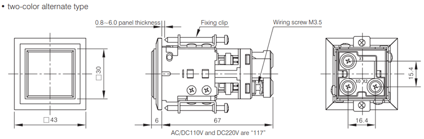 AD16-30JC-mounting-size-two-color-alternate