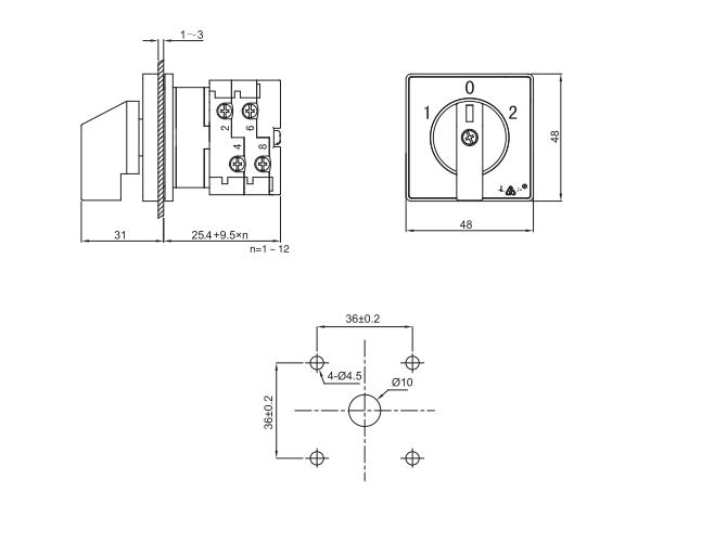 lw38d-16 installation size