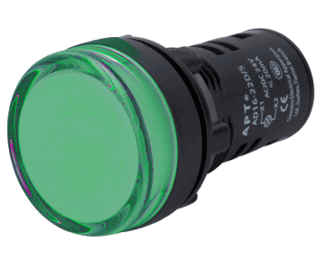 indicator-light/apt/AD16-22D-round-green